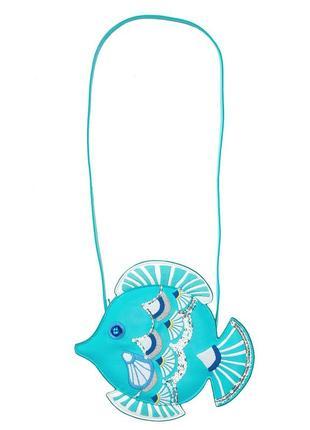 Сумочка gymboree рыбка с пайетками, сша.