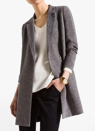 Удлинённый пиджак,блейзер,клетка max mara