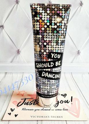 Парфюмированный увлажняющий лосьон victoria's secret you should be dancing