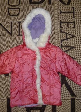 Куртка rebel (р.98 на 2-3роки) курточка
