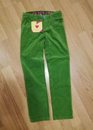Новые фирменные яркие штаны,р 122-128