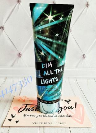 Парфюмированный увлажняющий лосьон victoria's secret dim all the lights