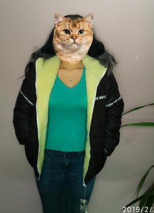 Куртка очень теплая