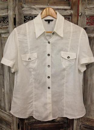 Льняная блуза от marks&spenser