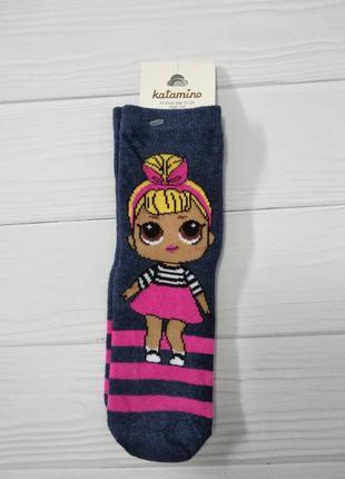 Демисезонные носки с лол на девочек