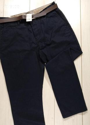 Мужские брюки george с ремнем
