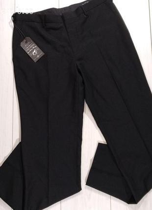 Лёгкие черные брюки 34 рр классические new look