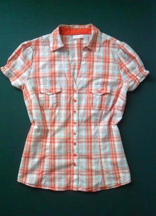 Рубашка женская в клеточку yessica.