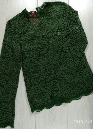 Ажурная стрейчевая блуза copenhagen lux
