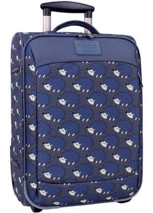 Чемодан, маленький чемодан, ежи, валіза, ручная кладь, самолетный чемодан
