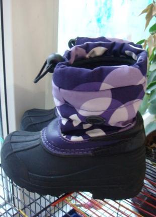 Reima ботинки зимние размер 26 стелька 17 см