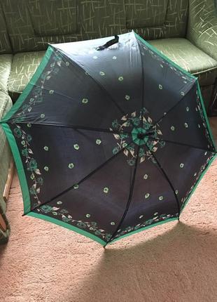 Большой зонт-трость автомат