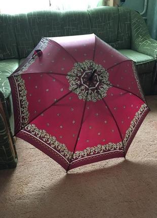 Большой зонт -трость автомат