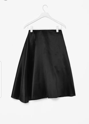 Вечерняя юбка из органзы