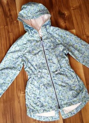 Куртка, ветровка на трикотажной подкладке на 8-9 лет