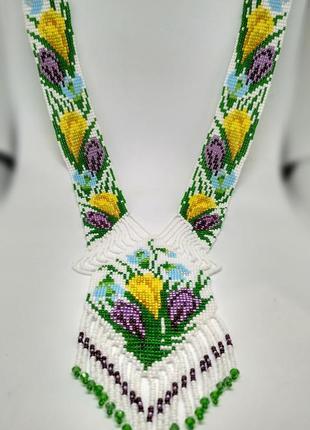 Цветочный гердан