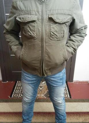 Мужская брендовая куртка  mark&spencer