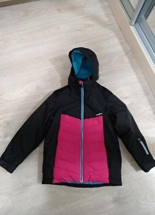 Куртка лыжная dekathlon р. 125-132 см.