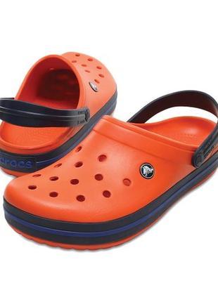 Кроксы crocs crocband р. w7-23,5см. оригинал
