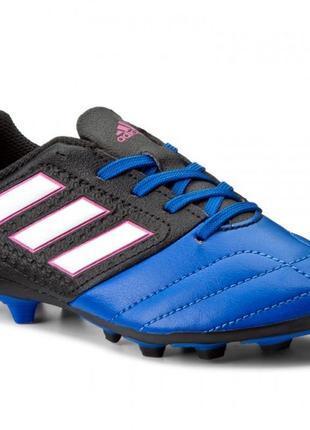 Детские футбольные бутсы adidas ace 17.4 firm ground  bb5592 размер28-30,35