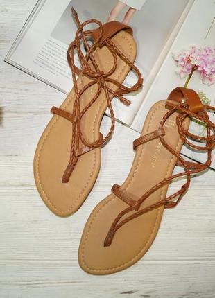 Atmosphere. стильные босоножки, сандалии на шнуровке