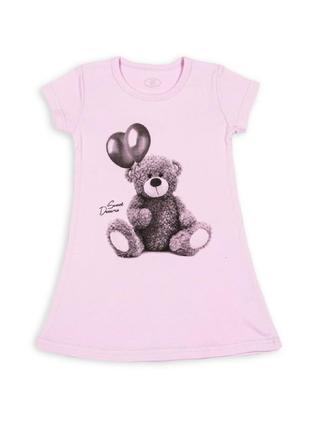 Ночная рубашка, для девочки,