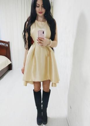 Шикарное платье с вышивкой от behcetti италия 💝 распродажа 💝