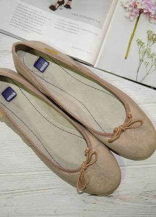 Mexx. кожа. комфортные фирменные туфли, балетки3