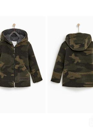 Камуфляжна парка , куртка , пальто zara