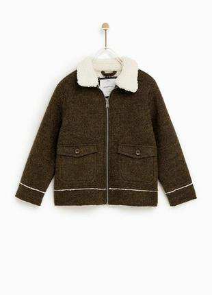 Стильне пальто жакет zara