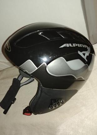 Шлем alpina twister 48-52 детский лыжный