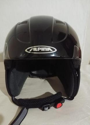 Шлем alpina twister 48-52 детский лыжный3