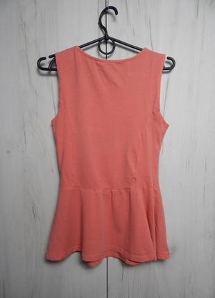 Тинейджерская блуза с баской