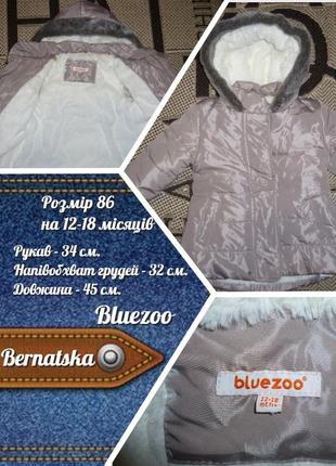 Куртка bluezoo (р.86 - на 12-18міс) курточка