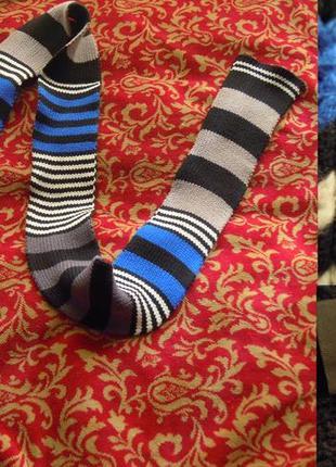 Трендовый вязанный шарф от aldo, унисекс, этно, бохо