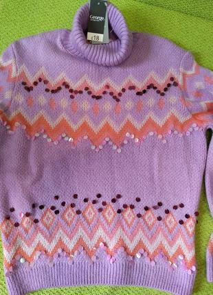 Теплый и мягкий свитер джордж англия