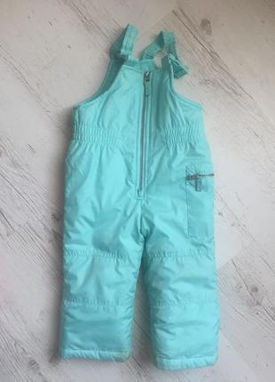 Детский комбинезон carter's, комбез , зимние штаны