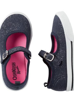 Мокасины oshkosh тапочки летние туфли кеды