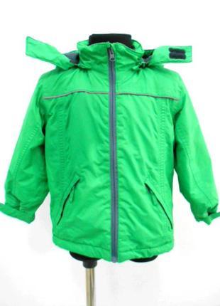 Куртка зеленая papagino