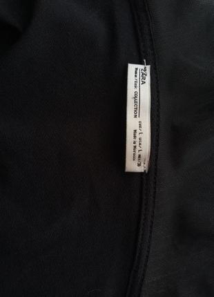 Шикарный черный боди от zara5 фото