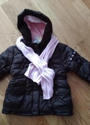Курточка для девочки  от  cunda на 86см