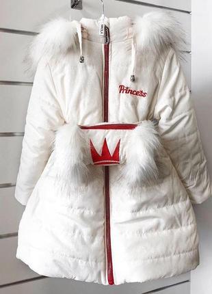 Купить зимнюю куртку для девочки like me