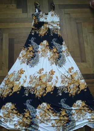 Платье выпускное, нарядное, длинное