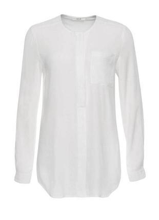 Шикарная базовая белая блуза из вискозы от opus, p. 40