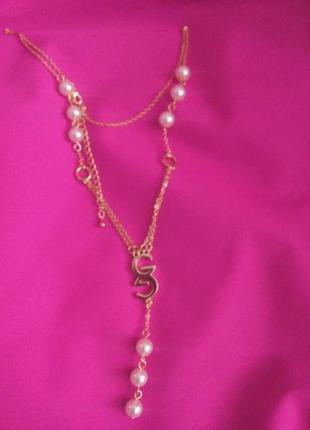 Колье ожерелье джордани голд от  oriflame