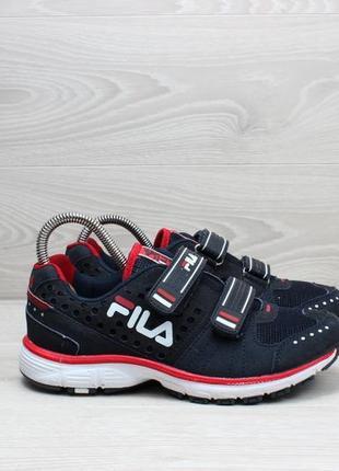 Кроссовки на липучках fila оригинал, размер 37