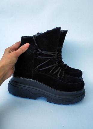 Бесподобные ботинки,зима  ,кросы на объемной подошве!!! 36-41.. распродажа! цены шок!