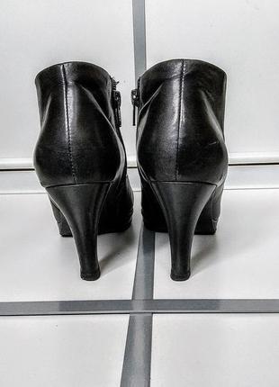Ботинки ecco ботильоны туфли кожа4 фото