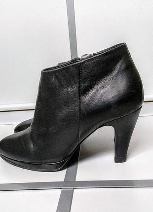 Ботинки ecco ботильоны туфли кожа5 фото