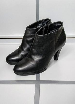 Ботинки ecco ботильоны туфли кожа2 фото